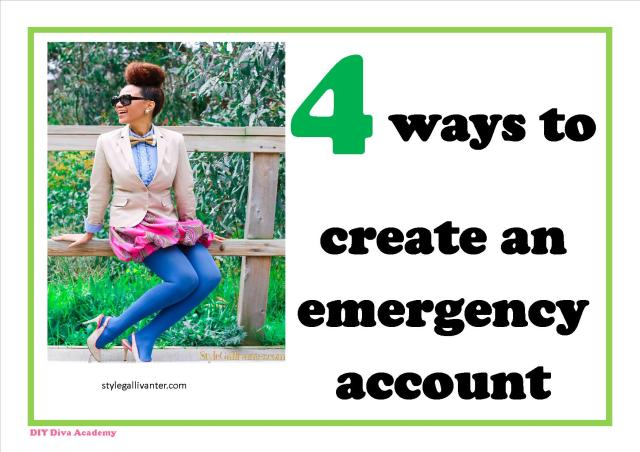 4 ways to create an emergency account