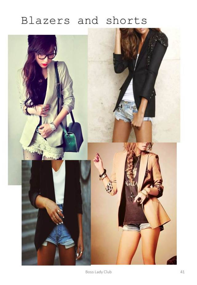 Shorts and Blazers
