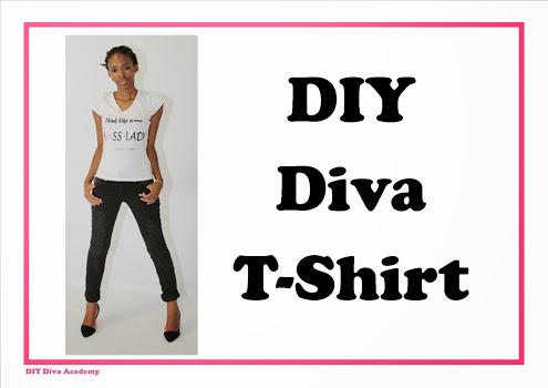 DIY Diva T-shirt